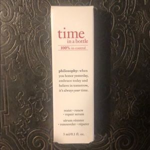 Philosophy time in a bottle daily agedefying serum